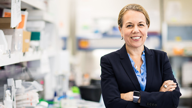 Award Winning Immunologist Catherine Bollard Leads Center for Cancer and Immunology Research